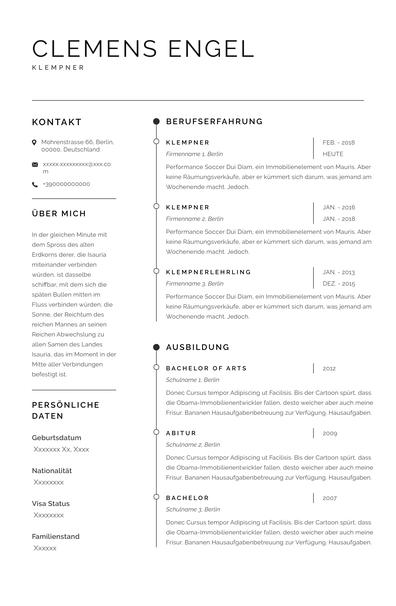Plumber Resume Examples (Germany)-Sydney.pdf